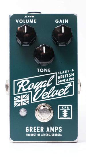 Greer Amps Royal Velvet Class-A British Drive