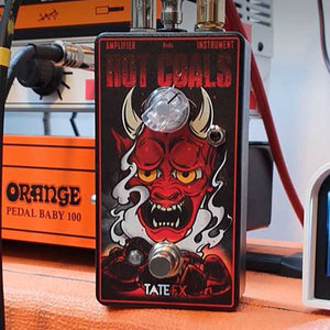 Tate FX Hot Coals Germanium Rangemaster Treble Boost/Dirt Booster