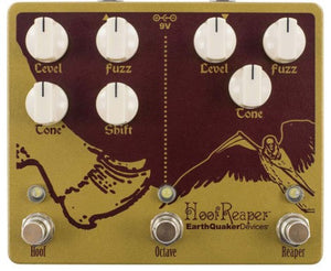 EarthQuaker Devices Hoof Reaper Double Fuzz w/Octave