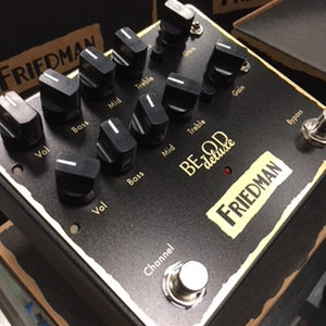Friedman BE-OD Deluxe 2-Channel Overdrive/Preamp
