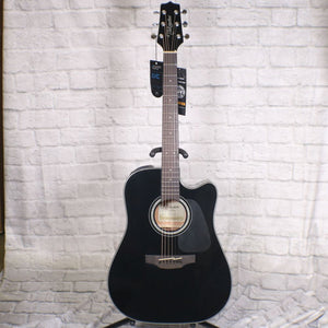 Takamine GD30CE-BLK  Dreadnought Acoustic/Electric Guitar