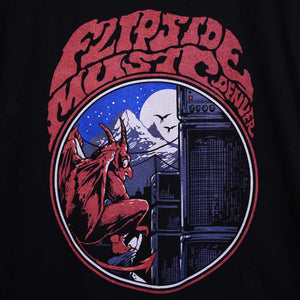 Flipside Music - Denver Doom T-Shirt - Gargoyle Graphic