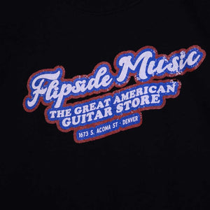 "Flipside Music - ""The Great American Guitar Store"" - T-Shirt"