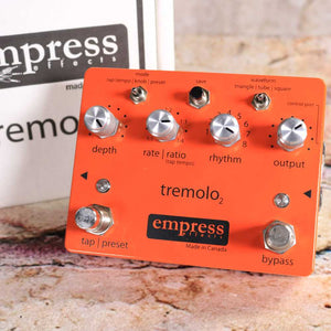 Used: Empress Effects Tremolo 2