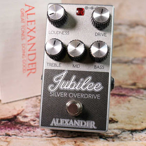 Used: Alexander Effects Silver Jubilee Overdrive