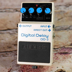 Used: Boss DD3 Digital Delay