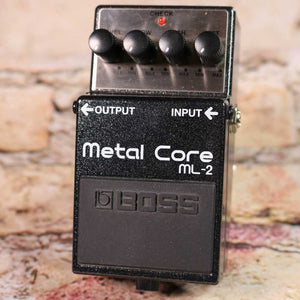 Used: Boss ML-2 Metal Core Distortion