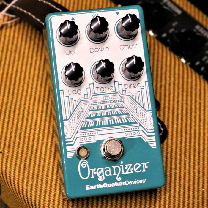 EarthQuaker Devices  - Organizer Polyphonic Organ Emulator Guitar Effects Pedal