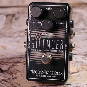 Used: Electro Harmonix Silencer Noise Gate