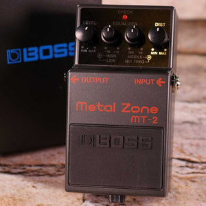 Used: Boss Metal Zone MT-2 Distortion