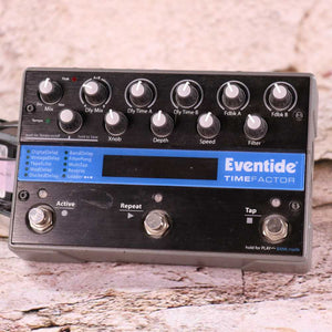 Used: Eventide TimeFactor Delay