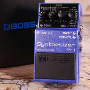 Used: Boss SY-1 Synthesizer