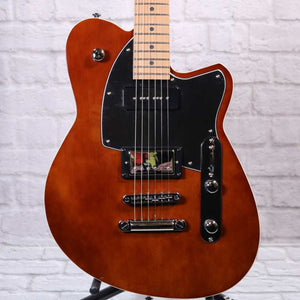 Flipside Music Exclusive Reverend Guitars Double Agent OG - Violin Brown