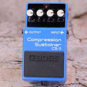 Used: Boss CS-3 Compression Sustainer