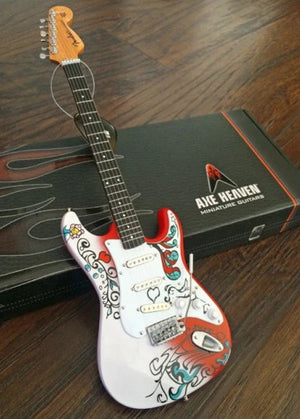 AXE HEAVEN Jimi Hendrix Mini Fender™ Strat™ Monterey Guitar Model