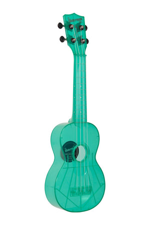 Kala Waterman Fluorescent Blue Raspberry Soprano Ukulele