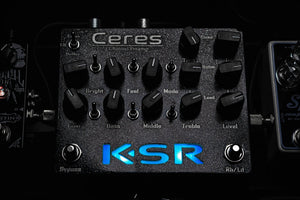 KSR Amplification Ceres – 3ch Preamp Pedal