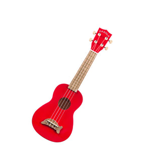 Kala Makala Dolphin Candy Apple Red Soprano Ukulele