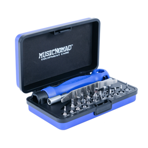 Music Nomad - Premium Guitar Tech Screwdriver and Wrench Set