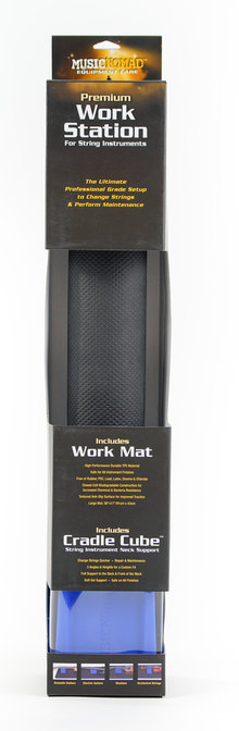 Music Nomad Premium Work Station Neck Support and Work Mat
