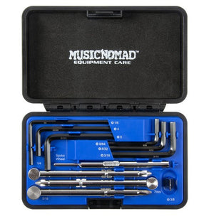 Music Nomad - Premium Guitar Tech Truss Rod Wrench Set - 11 pcs.