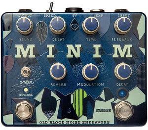 Old Blood Noise Endeavors Minim Reverb Delay and Reverse Pedal