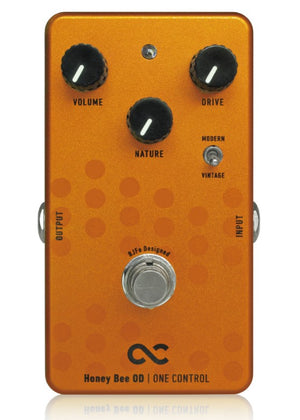 One Control Honey Bee OD - Overdrive Pedal