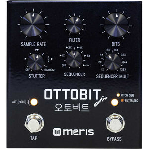 Meris Ottobit Jr Pitch, Filter, Bit Crusher Pedal