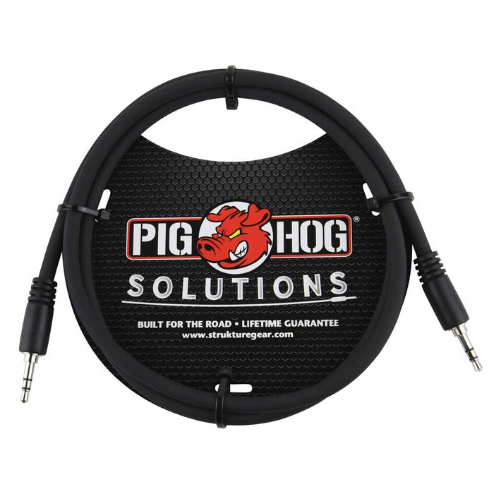 Pig Hog Solutions - 9ft , 3.5mm TRS to  3.5mm TRS Cable