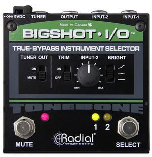 Radial Engineering BigShot i/o Instrument Switcher