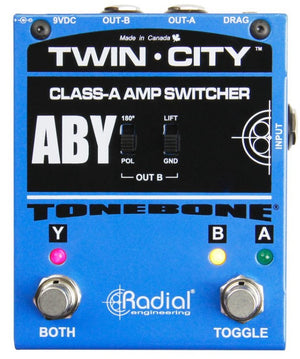Radial Engineering Twin-City Active Amp Switcher