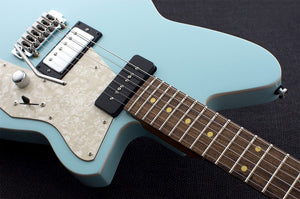 Reverend Guitars Double Agent W in Chronic Blue