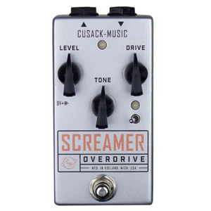 Cusack Screamer V2 Guitar Overdrive Pedal