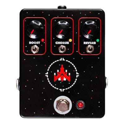 JHS Pedals Space Commander Boost Chorus Reverb Effects Pedal