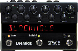Eventide Space Reverb and Beyond Effects Pedal