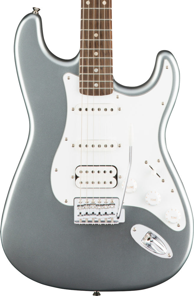 Squier Affinity Series HSS Stratocaster Guitar in Slick Silver
