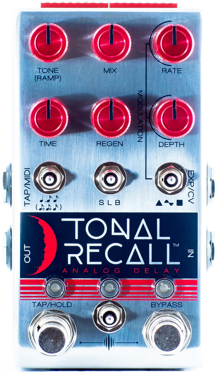 Chase Bliss Audio Tonal Recall Red Knob Mod Delay Pedal