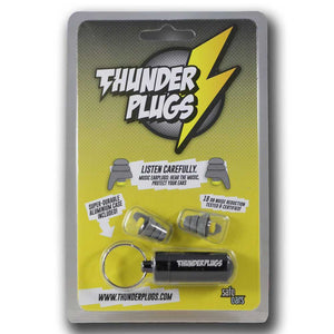 Thunderplugs Classic Hearing Protection with Case