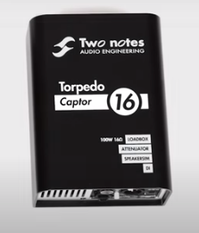Two Notes Audio Engineering Torpedo Captor Load Box/Attenuator/DI - 16 ohms
