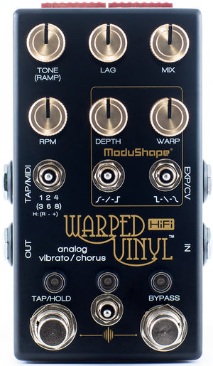 Chase Bliss Audio Warped Vinyl Analog HiFi Vibrato/Chorus Pedal