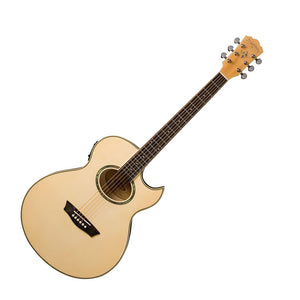 Washburn Festival Series EA20 Florentine Cutaway Acoustic/Electric Guitar
