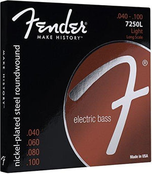 Fender Long Scale 7250L Bass Guitar Strings 40-100