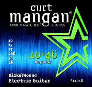 Curt Mangan Nickel Wound 10-46 Electric Guitar String Set