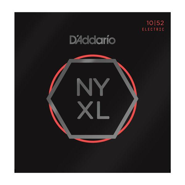 D'Addario NYXL1052 Light Top / Heavy Bottom, Nickel Wound Electric Guitar Strings, 10-52