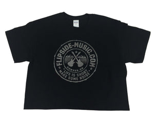 Flipside Music Tour Quality Logo T-Shirt Graphite/Black