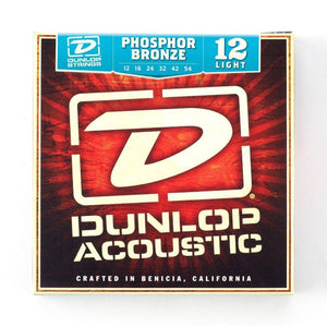 Dunlop Phosphor Bronze 12-54 Acoustic Guitar String Set