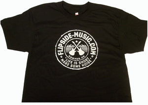 Flipside Music Tour Quality Logo T-Shirt
