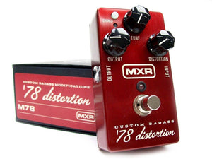 MXR M78 Custom Badass 78' Distortion
