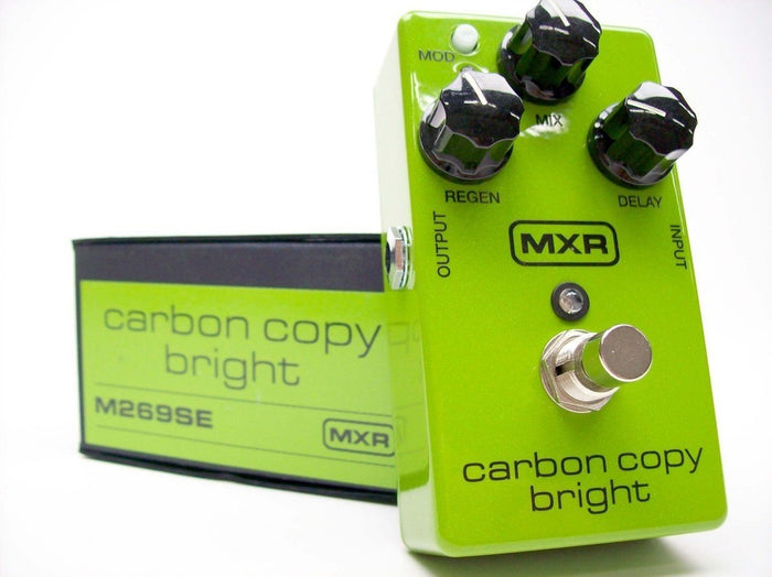 MXR Carbon Copy Bright Analog Delay Pedal