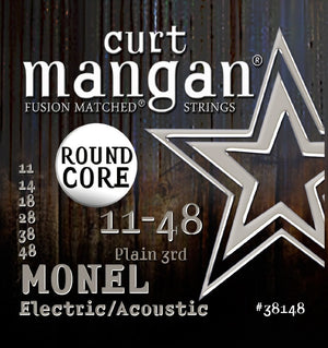 Curt Mangan Monel 11-48 Electric Guitar String Set
